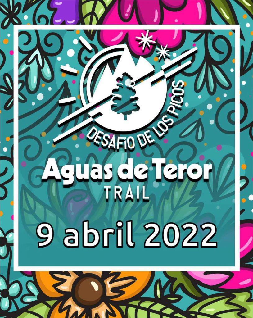 Cartel de presentación de la nueva fecha para la Aguas de Teror Trail 2022