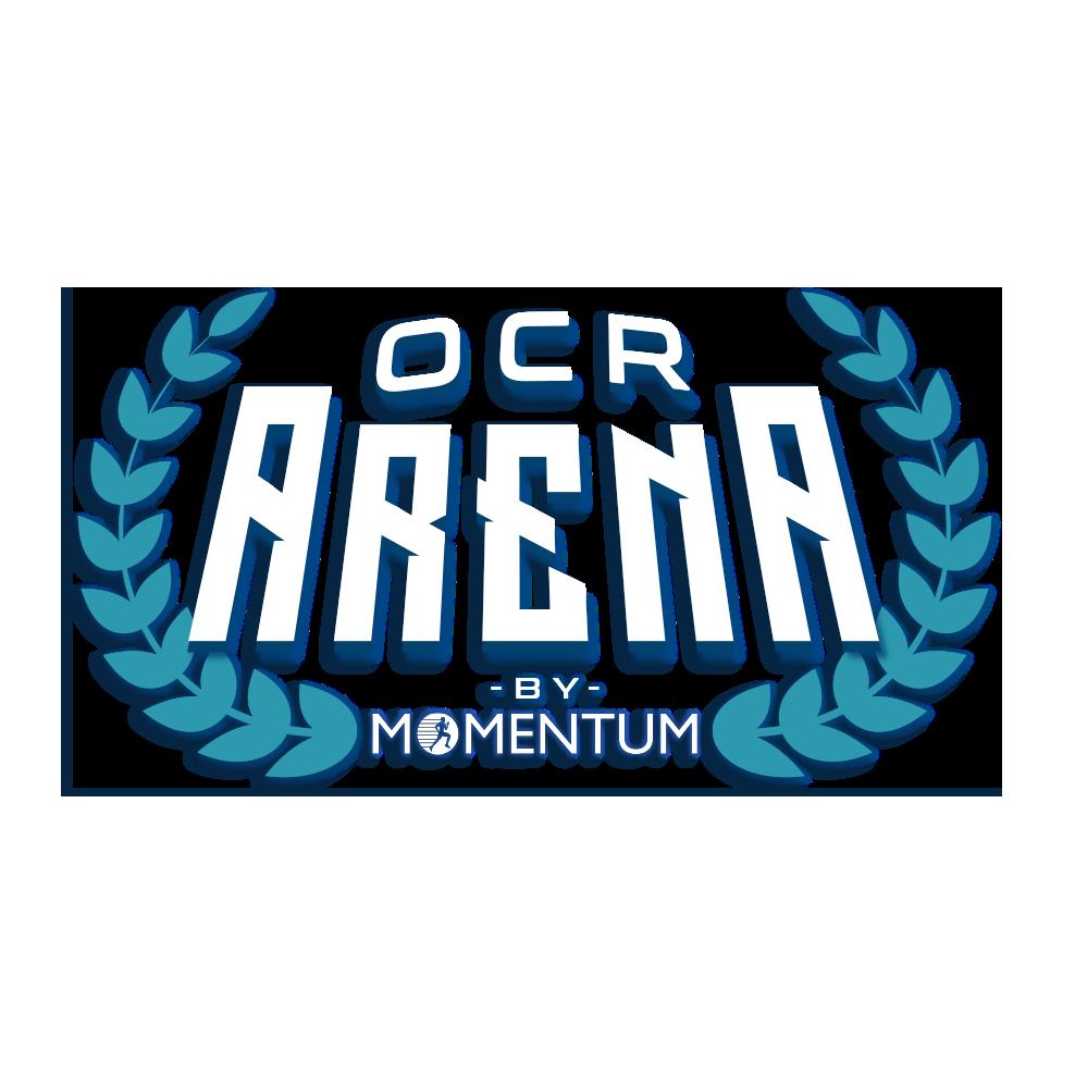 Logotipo oficial de OCR Arena By Momentum