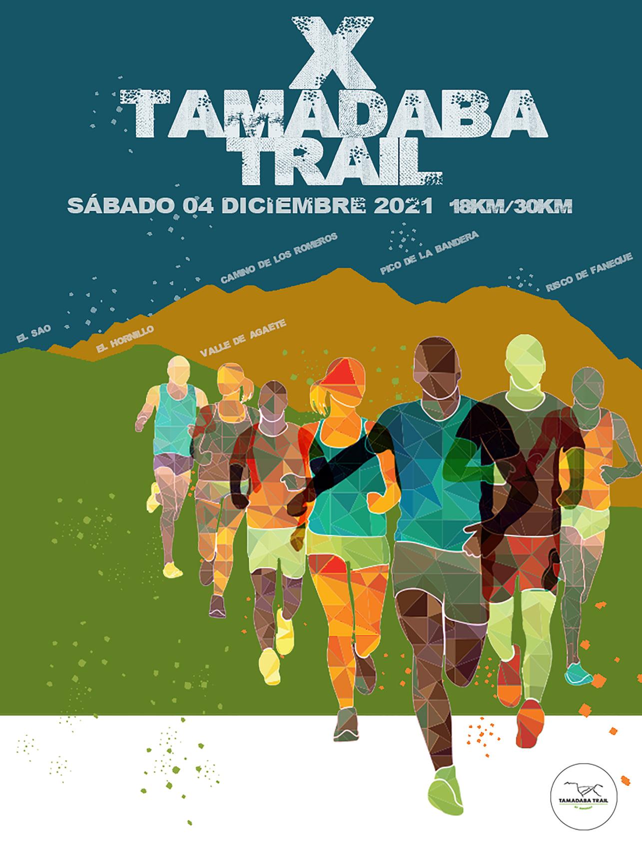 Cartel oficial de la Tamadaba Trail 2021