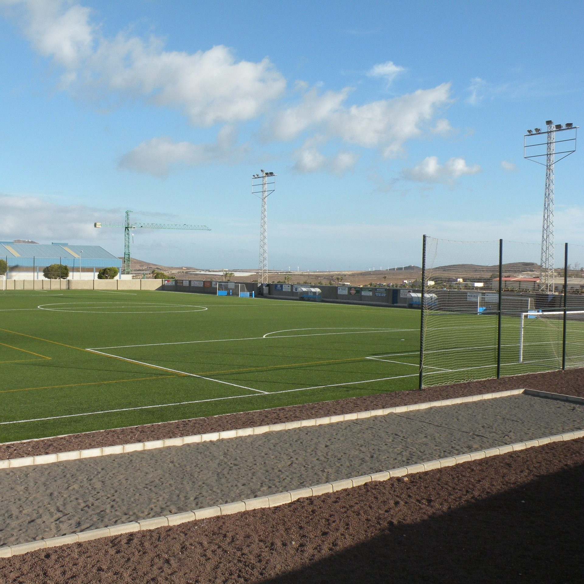 Campo de fútbol de Montaña Los Vélez