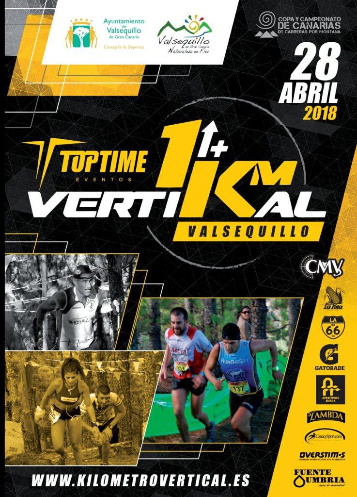 Cartel Oficial del Kilómetro Vertikal 2018